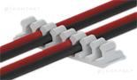 Samoprzylepne uchwyty kablowe