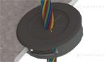 Plastikowa przelotka kablowa