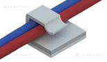 Uchwyt kablowy, samoprzylepny