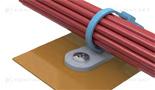 Uchwyt do opaski kablowej przykręcany
