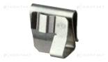 Uchwyty kablowe poprzeczne, stalowe, Heyco™, SunRunner® 90°