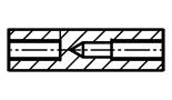 Tulejki dystansowe gwintowane, okrągłe