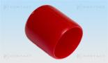 Nasadka elastyczna czerwona