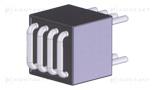 Ferrytyna złącza i procesory z wieloprzeplotem